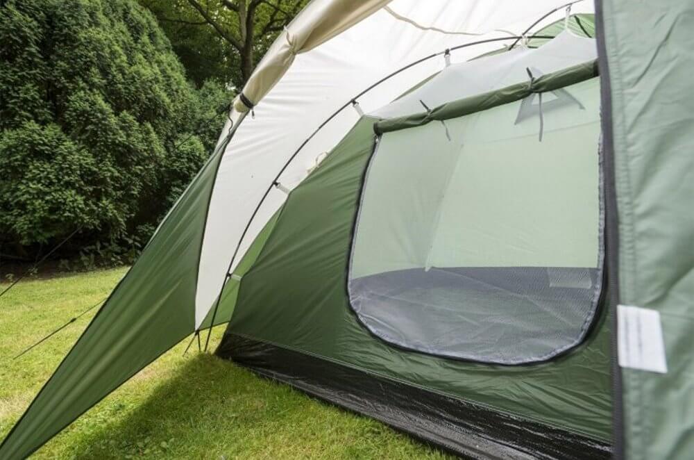 cara memasang tenda camping dome