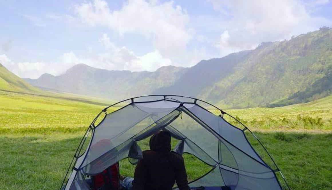 sewa tenda camping di bali bromo