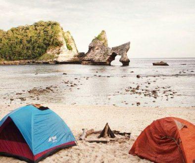 tempat camping di bali nusa penida