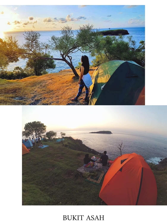 tempat camping di bali bukit asah
