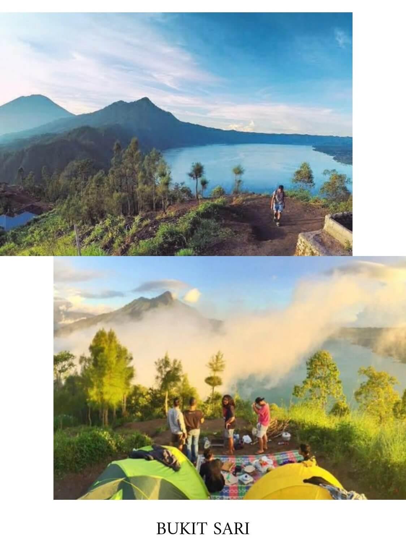 tempat camping di bali bukit sari
