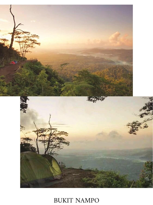 7.Bukit Cemara (Karangasem) Bukit Cemara, nama tempat ini mungkin cukup asing bagi anda berbeda dengan Bukit Asah di Bugbug atapun Bukit Campuhan di Ubud. Bukit Cemara terletak di Desa Yeh Kori, Kecamatan Bandem, Kab. Karangasem, menjadi salah satu objek wisata alam di Bali Timur. Tempat ini memang cukup spesial, menyajikan pemandangan megahnya Gunung Agung. Selain sebagai tempat wisata yang menyuguhkan keindahan alam, juga cocok bagi mereka yang suka wisata petualangan terutama untuk kegiatan camping di Bali bukit surga nampo
