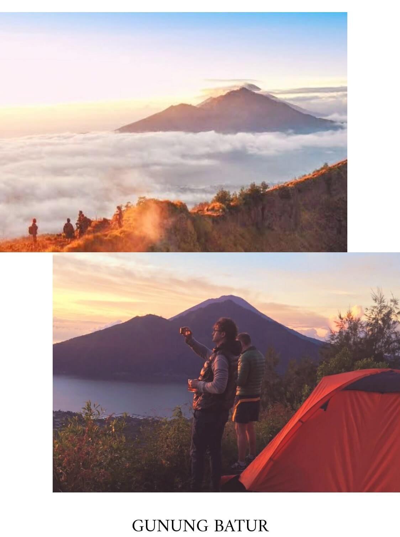 tempat camping di bali gunung batur