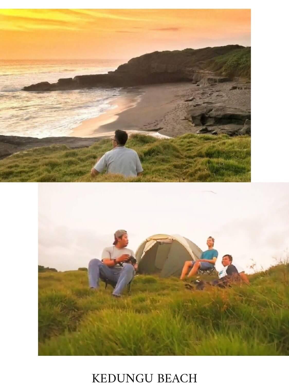 tempat camping di bali kedungu beach