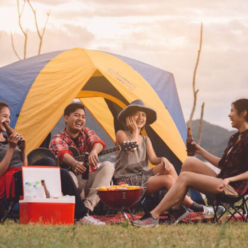 sewa tenda camping di dalung